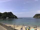 松崎の海にいます