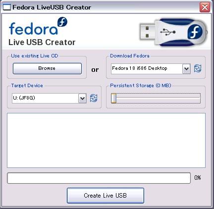 Fedoralivecdcreator